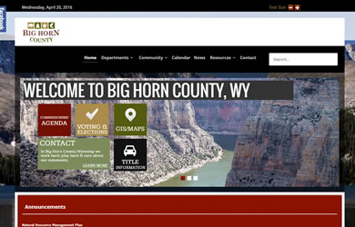 bighorn county web site
