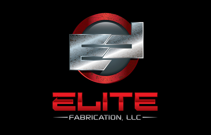 Elite Fabrication Chrome Logo