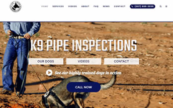 K9 Pipe Inspections